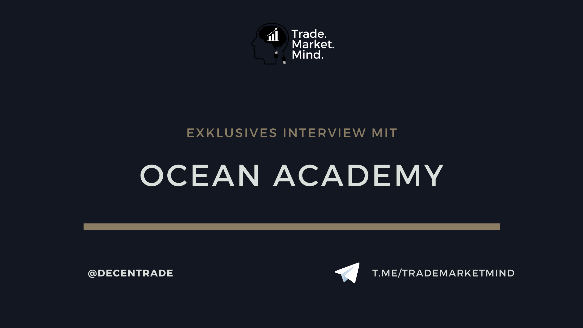 Exklusives Interview mit der Ocean Academy